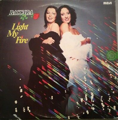 Baccara - LP - Light My Fire - RCA 34 473 9  - Disco - 1978  versiegelt mint