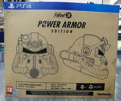 POWER ARMOR EDITION FALLOUT 76 T‑51B per PS4 Playstation 4 italiano