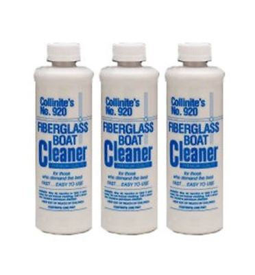 Collinite Fiberglass Boat Cleaner, 16 oz - 3 Pack