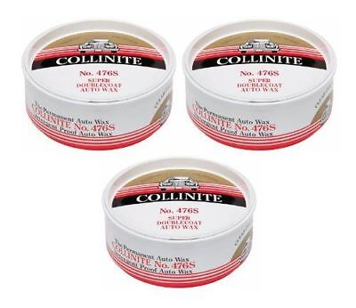 Collinite Super DoubleCoat Wax, 9 oz - 3 Pack
