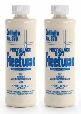 Collinite Fleetwax Liquid 1 Pint 870 2 Pack