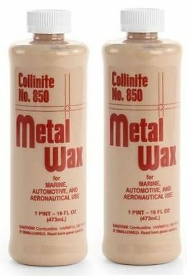 Collinite **2 Pack** Metal Wax #850 (16oz)