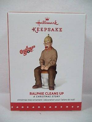 Hallmark 2015 A Christmas Story Ralphie Cleans Up Ornament
