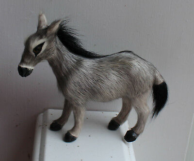 Vintage Miniature Horse Donkey Made of Fur