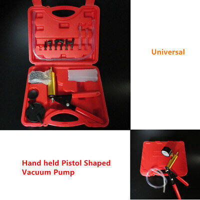 Universal Hand Held Brake Bleeder Tester Set Bleed Kits Vacuum Pump Car Durable
