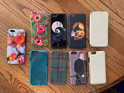 LOT OF 9 iPhone 6 CELL PHONE CASES