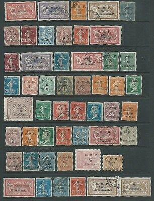 France Syria Fine Lot Overprints Mint Hinged Used Seldom Seen Nice!