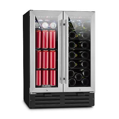 Wine cooler XXL Fridge refrigerator Drinks Chiller Bar 2 doors 116 l 18 Bottles