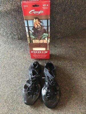 NIB Capezio Fizzion Z11 Jazz/ Lyrical Shoe Black