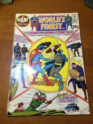 World's Finest #197 64 page giant November 1970 Superman Green Arrow Batman