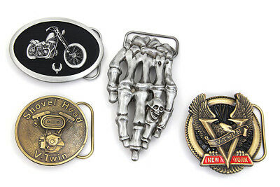 V-Twin Chopper Series Belt Buckle Set for Your Favorite Motorcycle Rider!