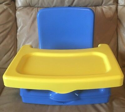 Safety 1st On The Go Fold Up Booster Seat With Tray In Original Box