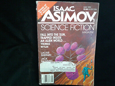 Isaac Asimov's Science Fiction Magazine May 1991 Issue Volume 15 Number 6