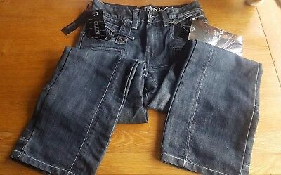"NEW ETO Platinum collection EB51 Size 26 dark blue jeans approx 36"" leg length"