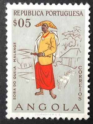 5c Quela Chief 1957 Mint Angola Stamp for Sale