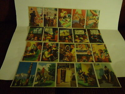 "Vintage 1943 Coca Cola ""Cut and Paste"" Trade Cards"