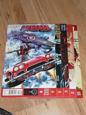 Deadpool #21-25 2014 Deadpool vs. S.H.I.E.L.D.
