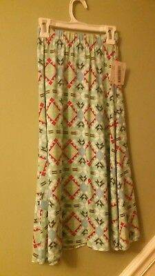 Lularoe NWT size 8 Girls Maxi Skirt Made in USA Discontinued Style