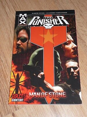 The Punisher Max Man Of Stone graphic novel
