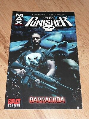The Punisher Max Barracuda graphic novel