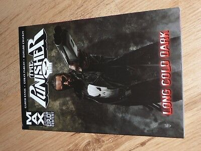 The Punisher Max Long Cold Dark graphic novel
