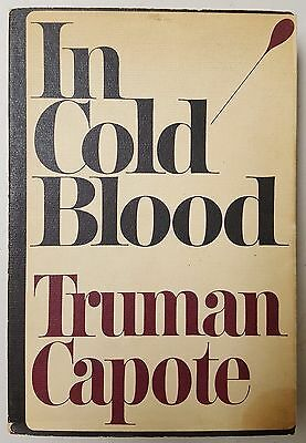 ADVANCE COPY - Truman Capote - IN COLD BLOOD - 1st Printing Edition, 1965