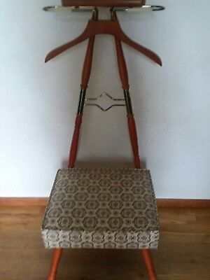 Vintage Men's Butler Valet Chair Spiegel Antique Furniture
