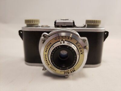 Kodak 35 Rangefinder Camera Anastigmat f:3.5 50mm lens - Vintage Decor or Parts