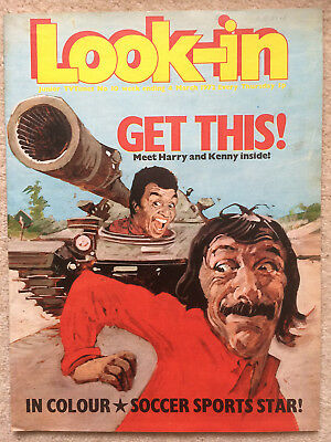 Look In Magazine 4 Mar 1972 #10   Get This   -   Harry Fowler & Kenny Lynch
