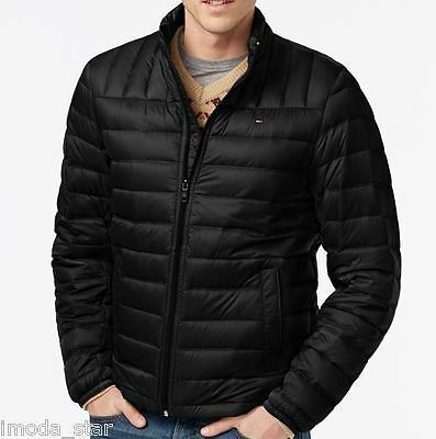 Tommy Hilfiger Men's Lightweight Down Quilted Packable Jacket - S