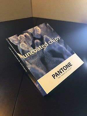 Pantone Chip Book UNCOATED Color Matching System