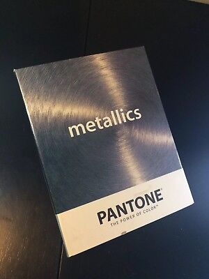 Pantone Chip Book METALLICS Color Matching System Used Graphic Design