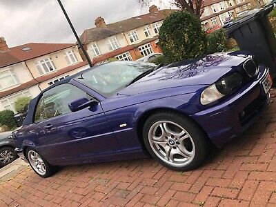 BMW 318ci Cabriolet 2002 Individual Blue Full Leather