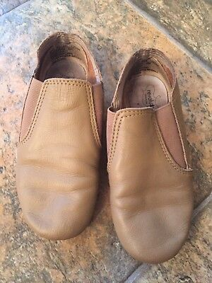 Revolution Jazz Boots Shoes Tan Size 2M
