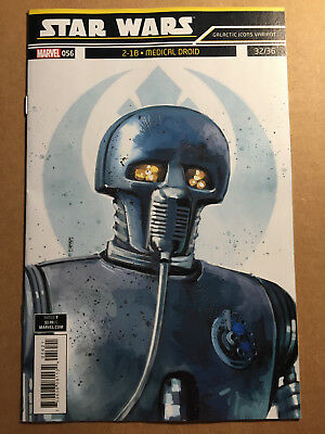 Star Wars #56 - Galactic Icons Variant Cover - 1St Print - Marvel (2019)