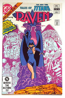 Dc Comics 1982 Tales Of The New Teen Titans #2 Of #4 Origin Raven Movie Show Nm-