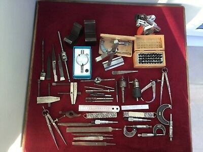 A Job Lot of Assorted Engineering Tools