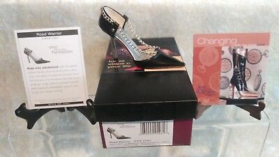 Just The Right Shoe Raine Road Warrior 25461 Box 2003 Step Into Fantasies NEW