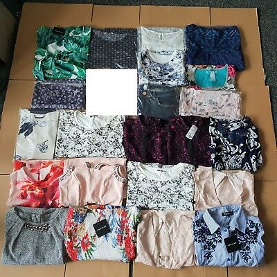22 Item Womens Mixed Sizes Clothing Job Lot Wholesale Parisian Ex Chainstore NEW