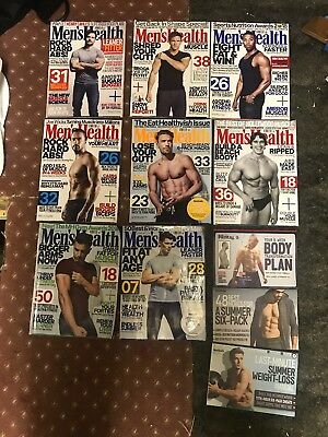Mens Health 2018 Back Issues 8 Issues / 3 Supplements