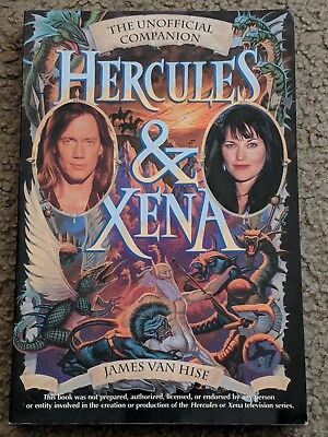 The Unofficial Companion Hercules & Xena By James Van Hise Book/Novel - LOOK!