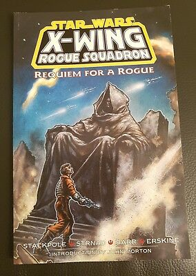 Star Wars Comic Book Graphic Novel X-Wing Rogue Squadron  Requiem For  A Rogue