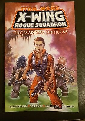 STAR WARS X-WING ROGUE SQUADRON the WARRIOR PRINCESS GRAPHIC NOVEL PAPERBACK