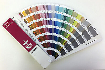 Pantone Plus - Solid Chips Uncoated Guide Books slightly used!