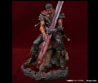 Berserk GUTS The Hundred Man Killer Bloodshed Exclusive Statue Art Of War NEW