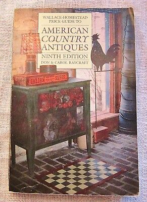Wallace - Homestead Price Guide to American Country Antiques Ninth Edition