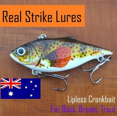 Fishing Lures Bream & Bass Trout Cod Redfin Flathead Saltwater Freshwater Crank
