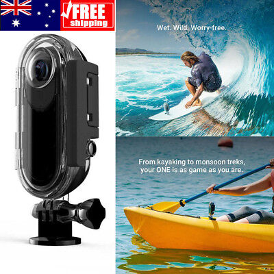 Underwater Waterproof Clear Housing Protective Case for Insta 360 One Camera