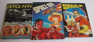 Space 1999 Annuals 1976 1977 1978 VG 3 books job lot