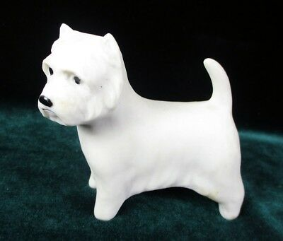 Westie Highbank Porcelain Figurine Scotland West Highland White Terrier